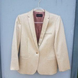 Zadig & Voltaire | Gold Blazer Jacket Statement